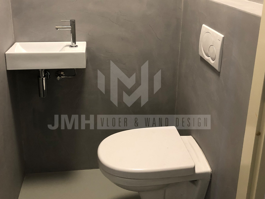 Betonlook Muur Arnhem Jmh Vloer Wand Design Hoor Heel Nerderland